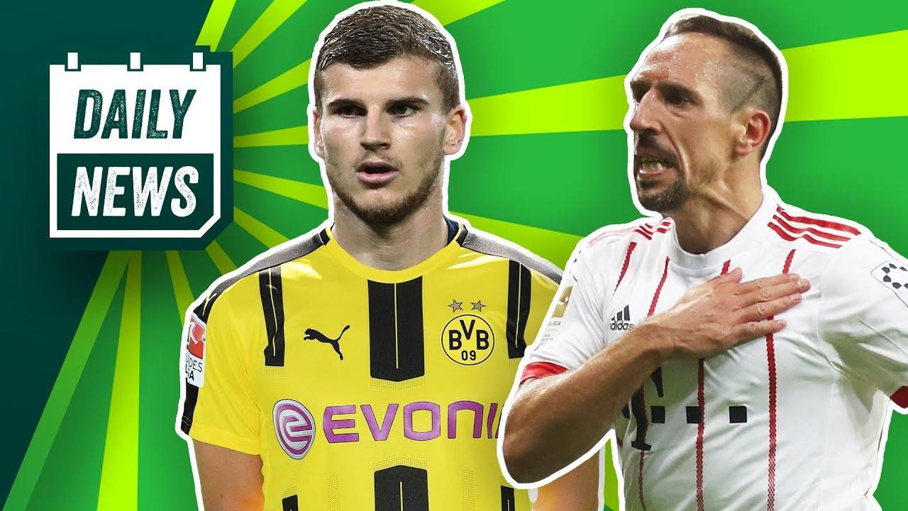 Timo Werner zum BVB? Schalke Transfer News: Kommen Jovetic und Benatia? Franck Ribéry rastet aus!
