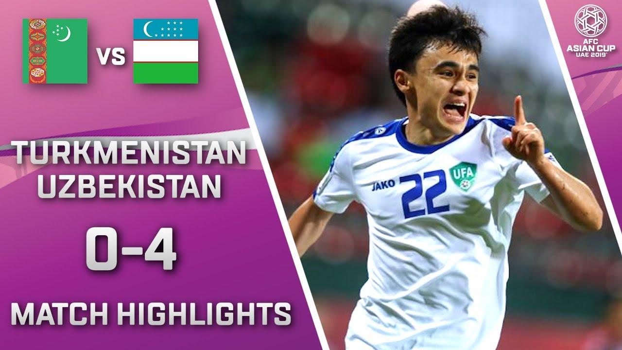 🇹🇲 TURKMENISTAN – UZBEKISTAN 🇺🇿 – 0:4 | MATCH HIGHLIGHTS | MACTH-24 | 13.01.2019 AsianCup2019