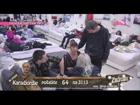 Zadruga 2 – Marija Kulić ušla u 'Zadrugu' i odmah se posvađala sa Miljanom – 13.01.2019.