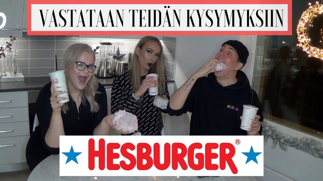 HESE MUKBANG ft. Henry Harjusola & Valtteri Sandberg | THESOFIAELLE