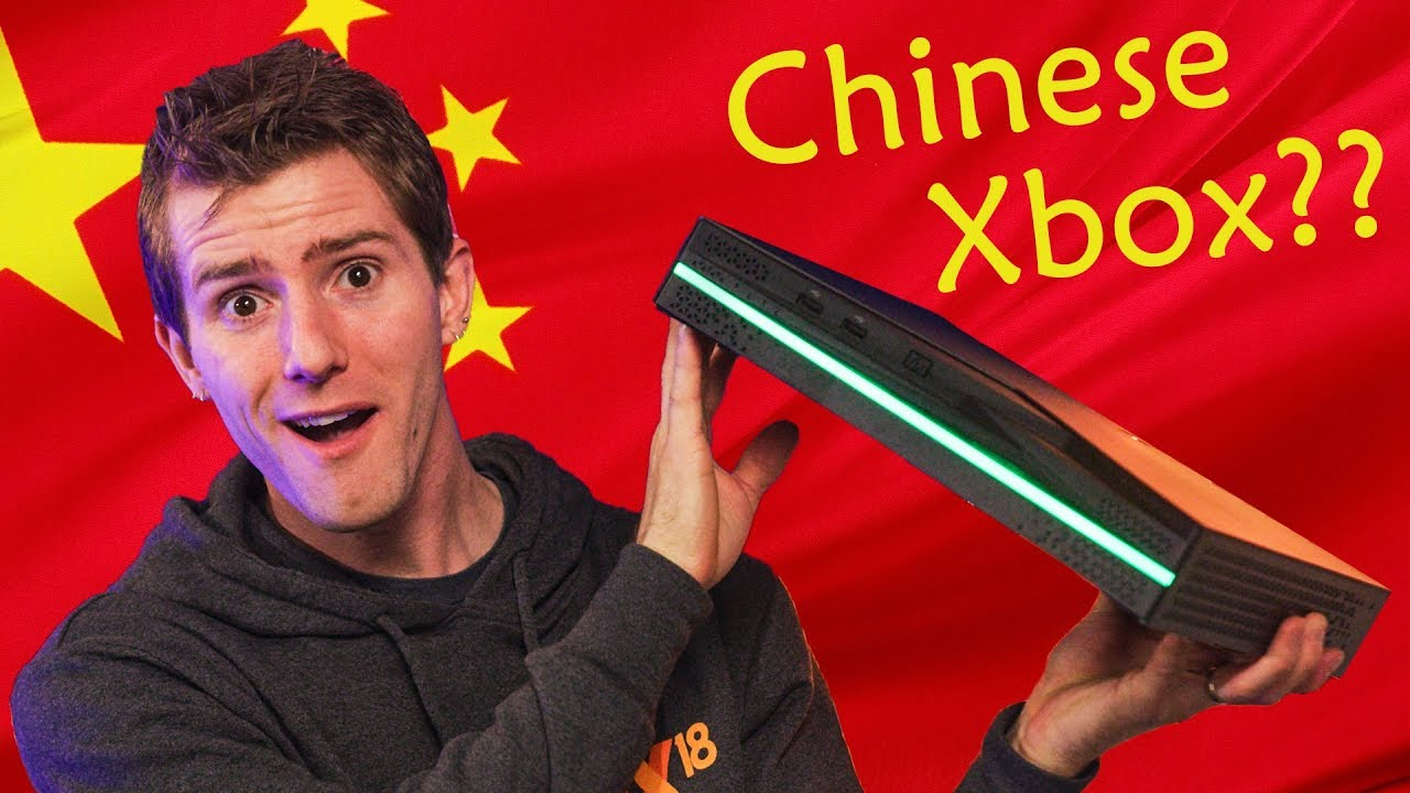 We GOT the Chinese Game Console!!