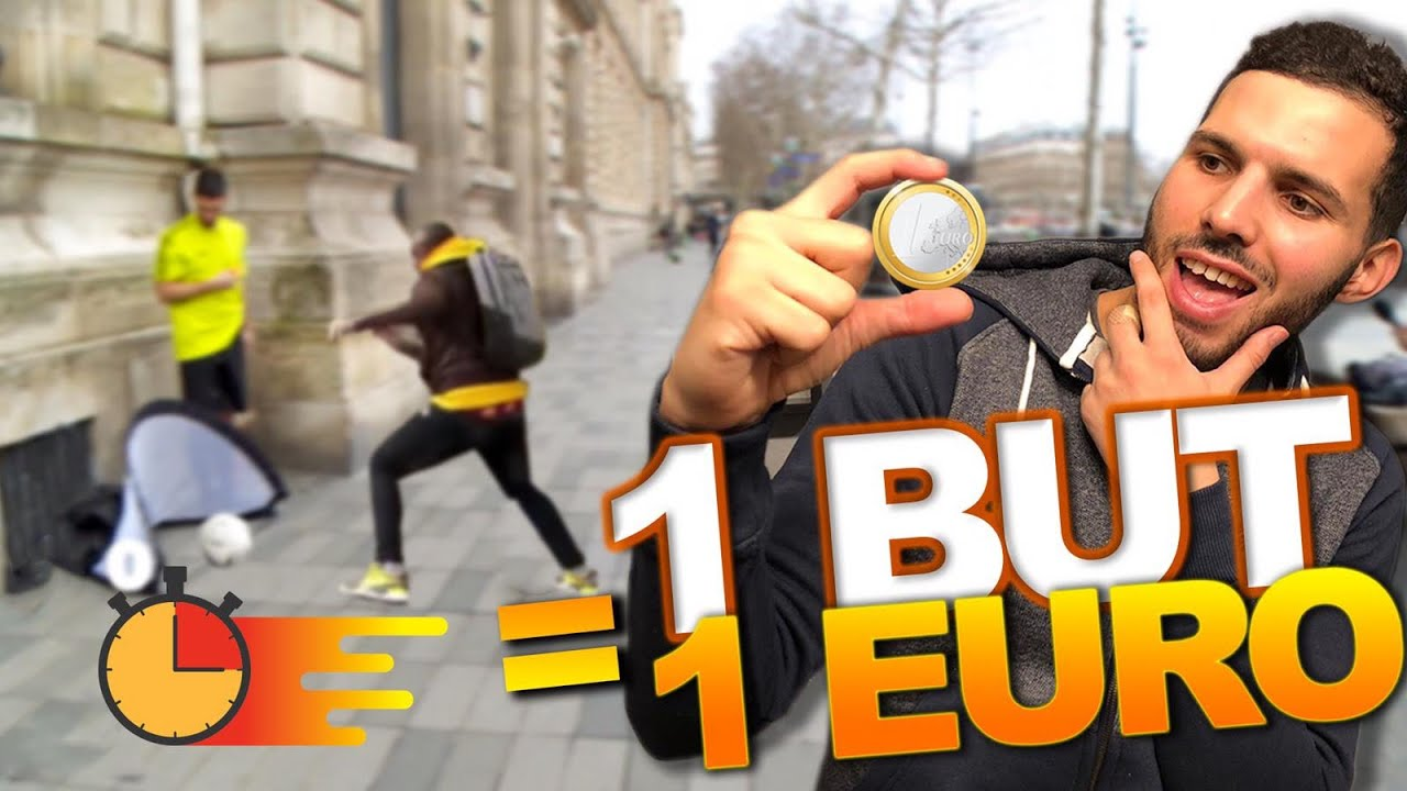 J'OFFRE UN EURO PAR BUT À DES INCONNUS !