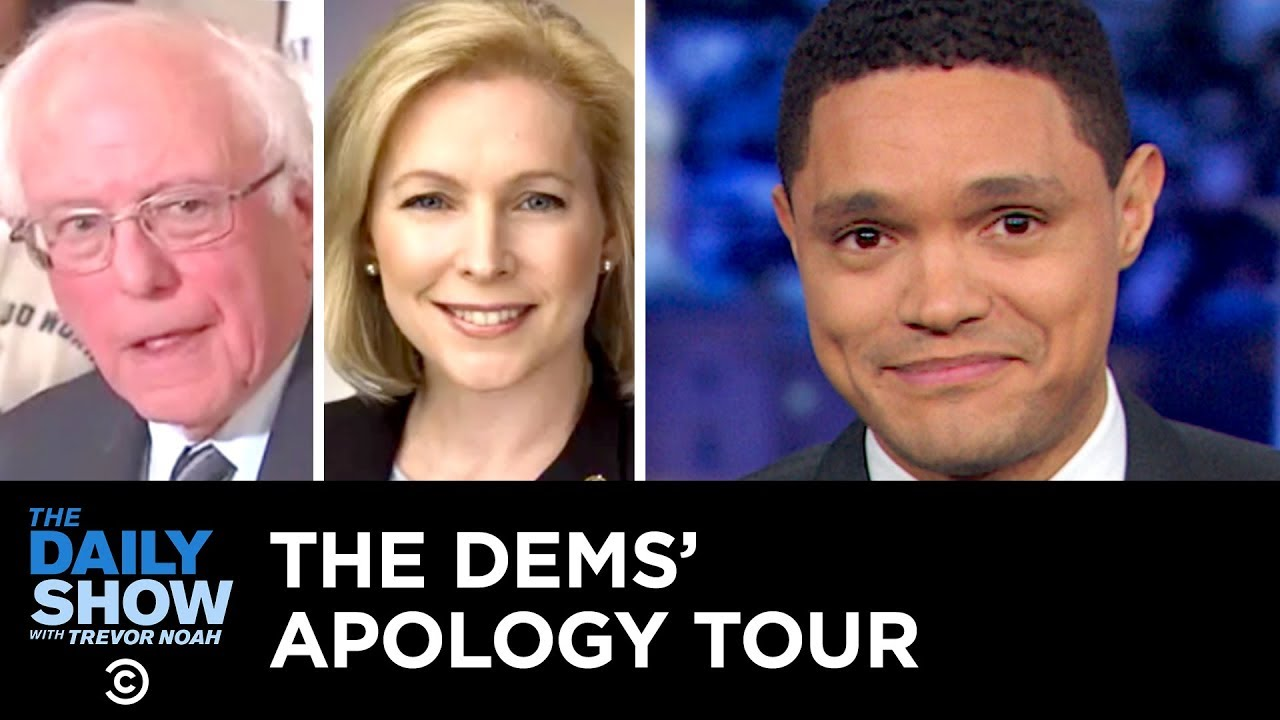 Democratic Candidates Kick Off Their 2020 Campaigns with an Apology Tour   The Daily Show