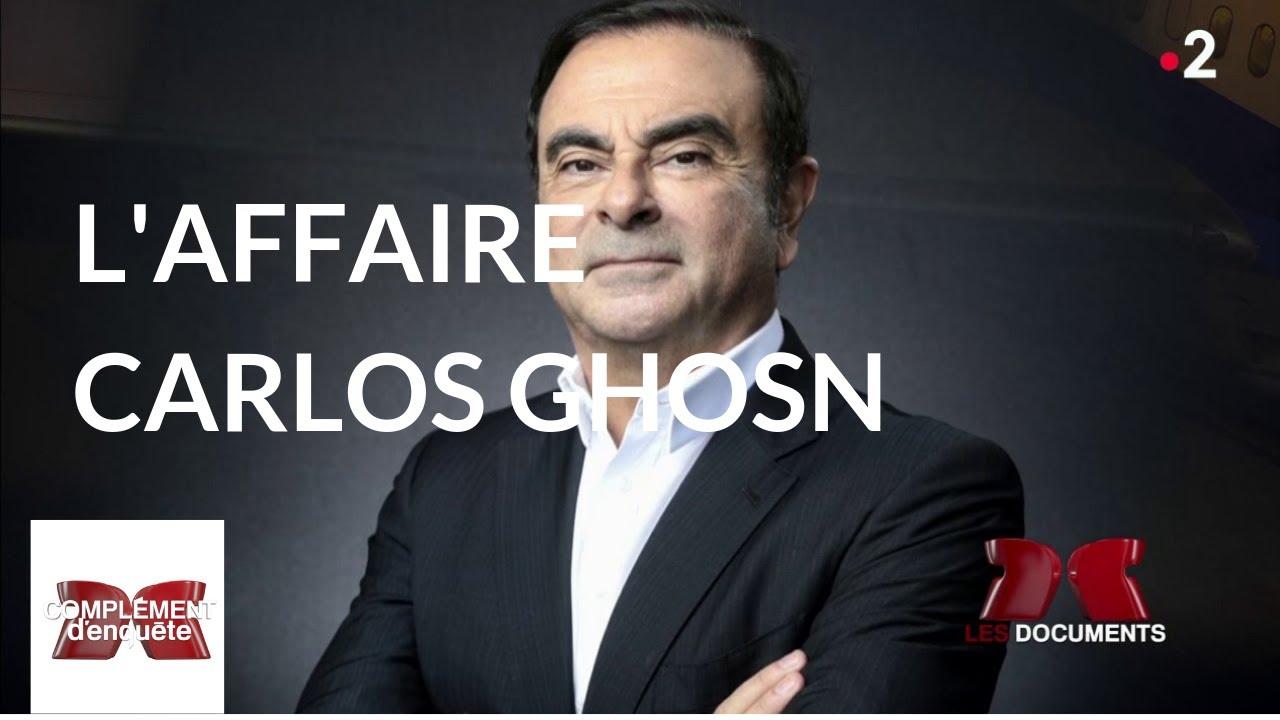 Complément d'enquête. L'affaire Carlos Ghosn – 17 janvier 2019 (France 2)