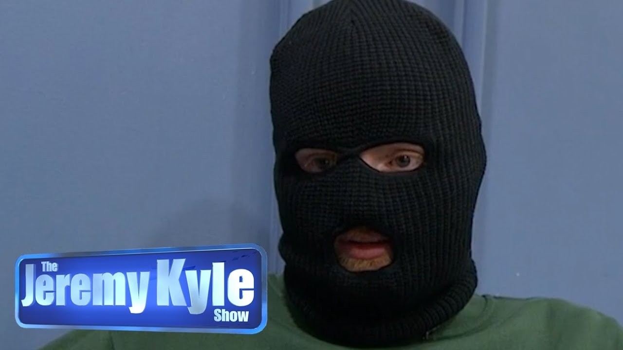 Man in a BALACLAVA Won't Show His Face on Camera | The Jeremy Kyle Show