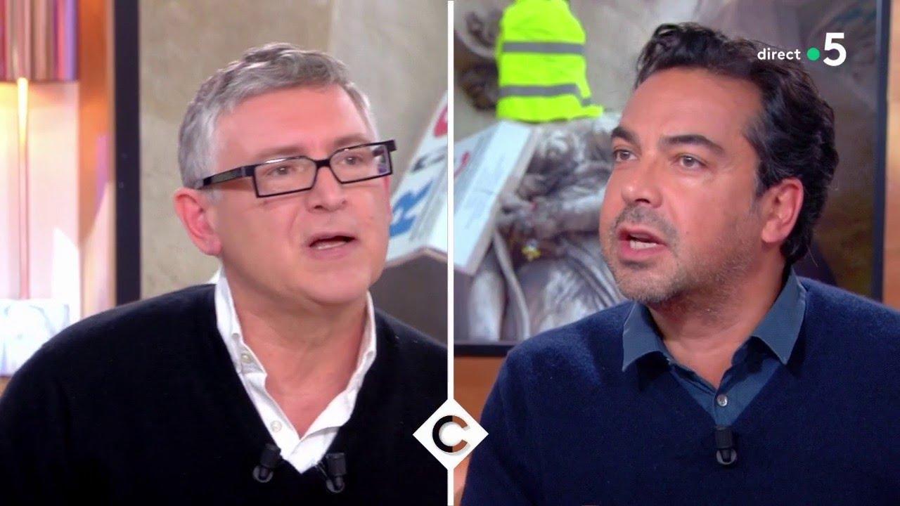 Gilets Jaunes : Michel Onfray s'exprime ! – C à Vous – 23/01/2019
