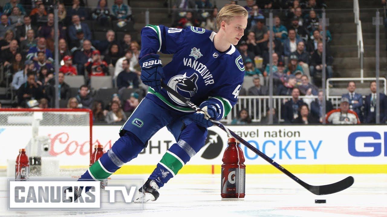 Recap of Elias Pettersson's 2019 NHL All-Star Skills Events (Jan. 25, 2019)