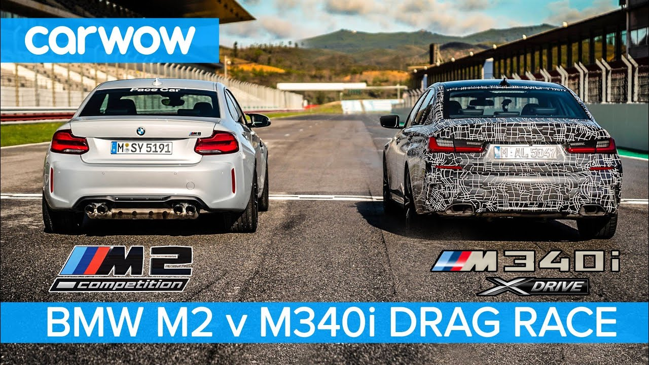 BMW M340i 2019 vs M2 Competition – DRAG RACE & ROLLING RACE…you'll be amazed how close it is.