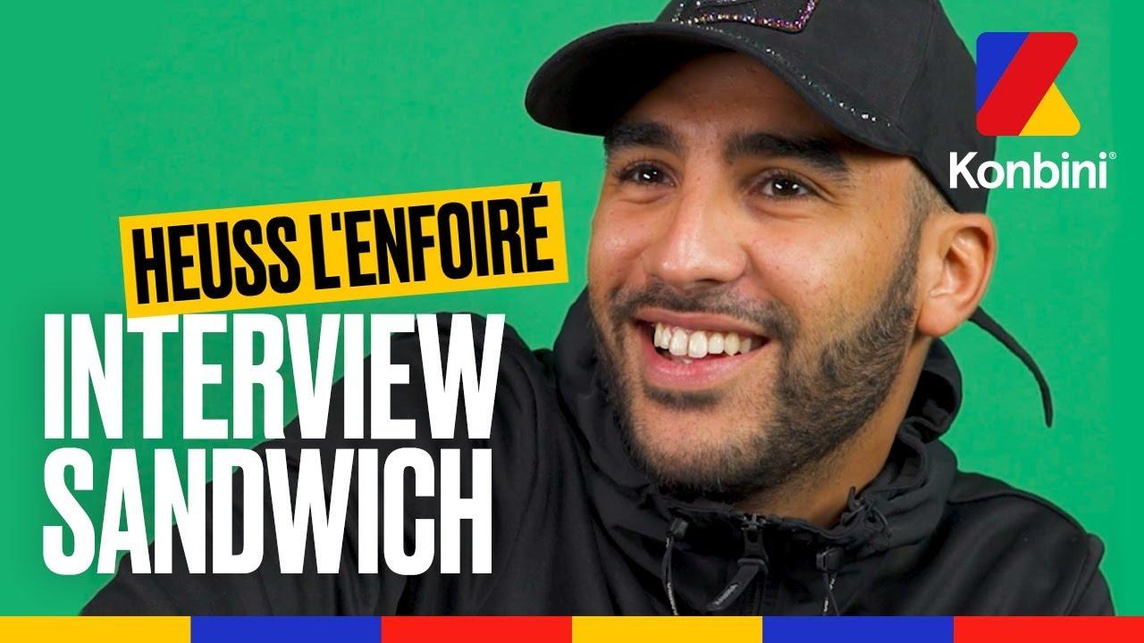 Heuss l'Enfoiré – Interview Sandwich