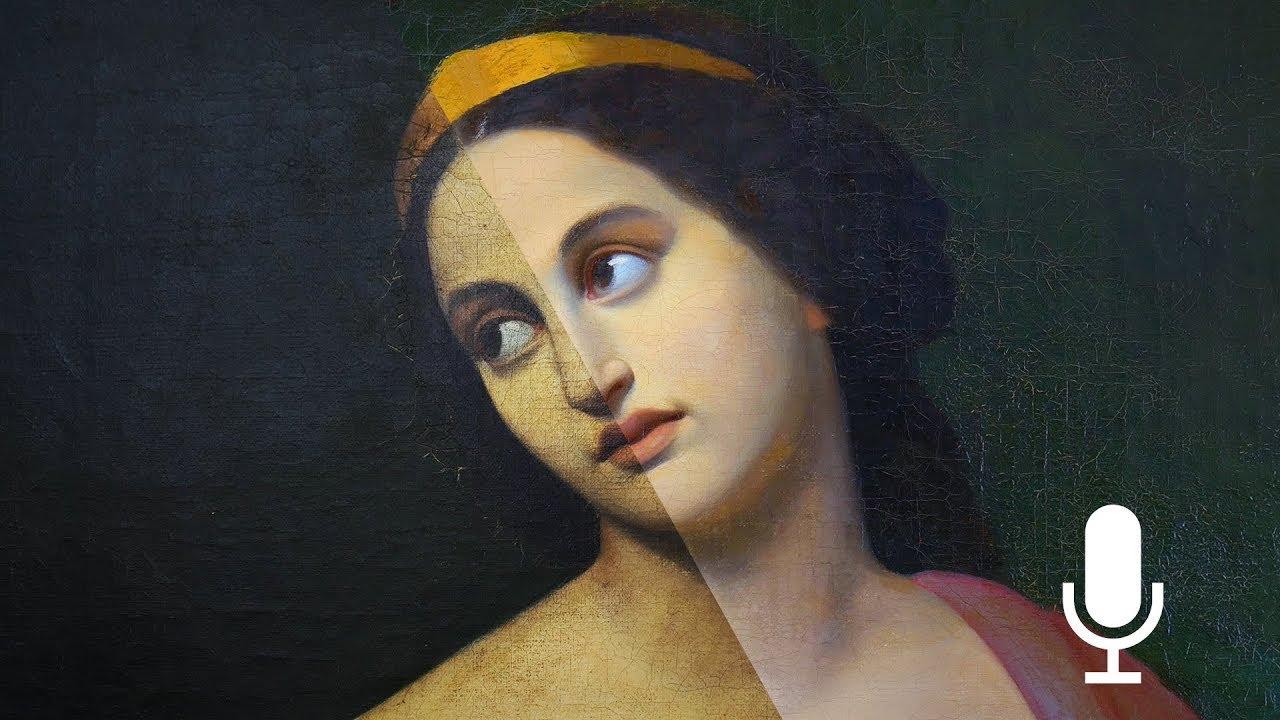 The restoration of an Emma Gaggiotti Portrait – Narrated Version