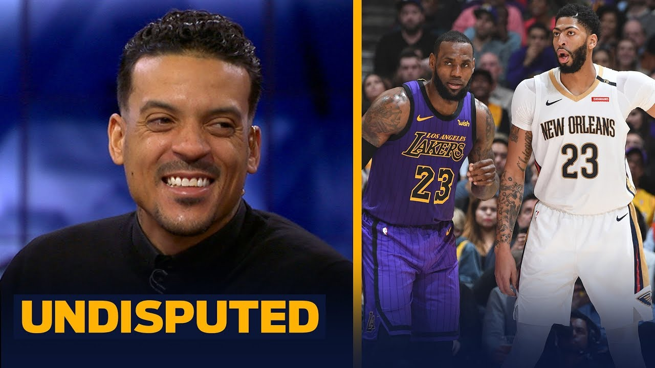 Matt Barnes joins Skip and Shannon to discuss Anthony Davis requesting a trade   NBA   UNDISPUTED