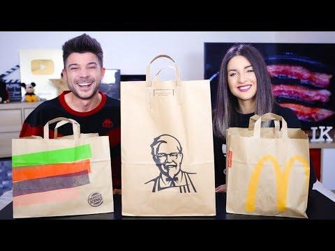 RICONOSCI IL MENÙ DA BENDATO **McDonald's vs Burger King vs KFC**