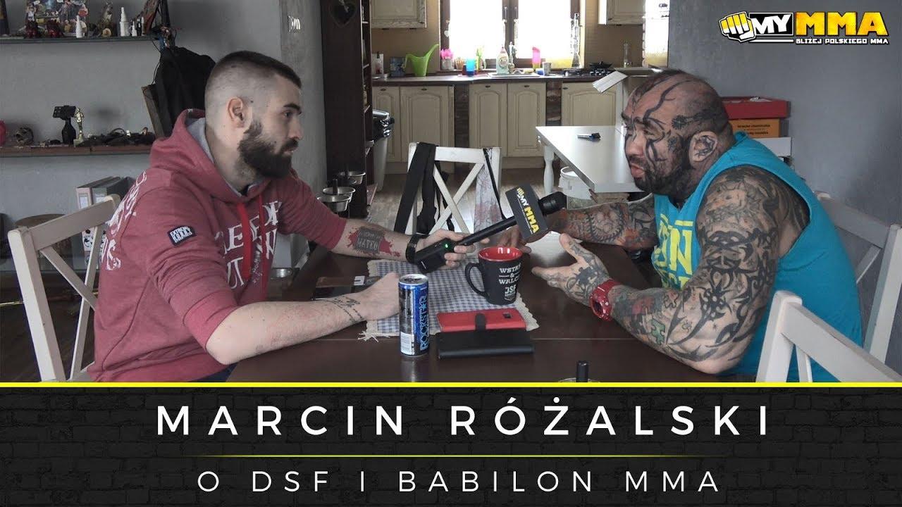 """RÓŻAL o turnieju wagi ciężkiej DSF, Babilon MMA, roli w """"Diablo"""" oraz swoich występach w telewizji"""""""