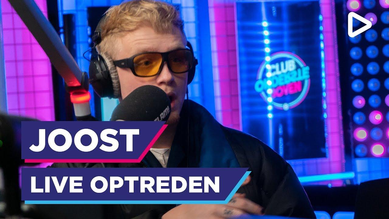 Joost doet 'Albino' [LIVE] | SLAM!
