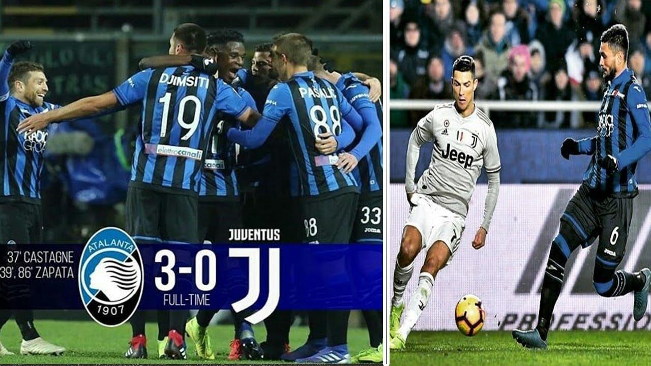 DUVAN ZAPATA VS JUVE   HIGHLIGHTS ATALANTA Vs JUVENTUS 3-0 full goals COPA ITALIA