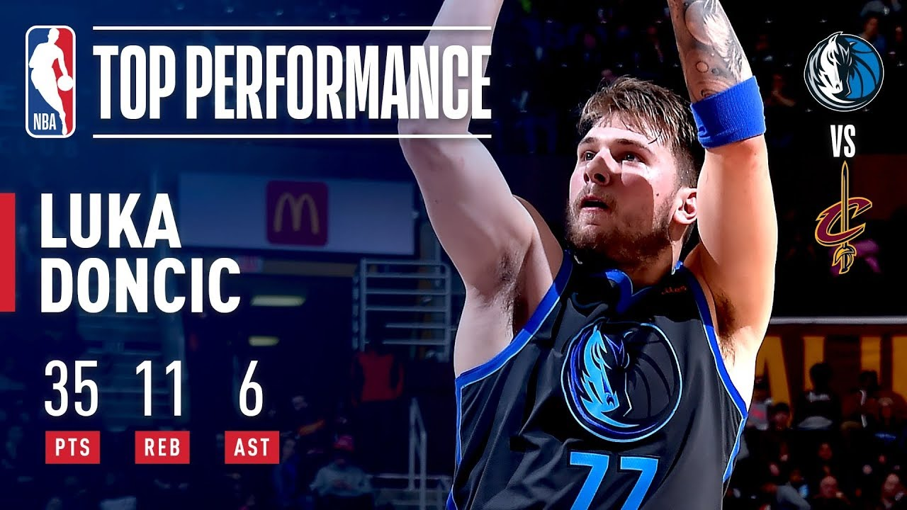 Luka Doncic SHINES In Cleveland   February 2, 2019