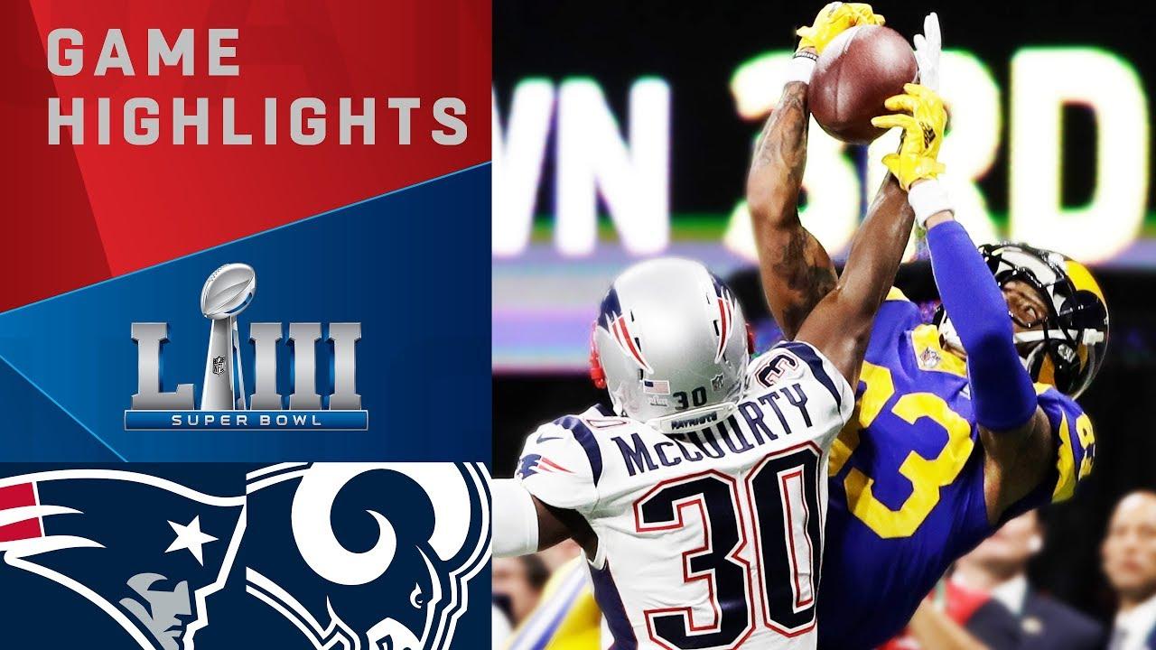 Patriots vs. Rams | Super Bowl LIII Game Highlights