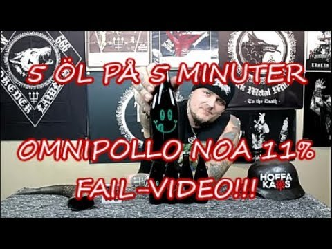 5 Öl på 5 Minuter – Omnipollo Noa. FAIL-VIDEO!
