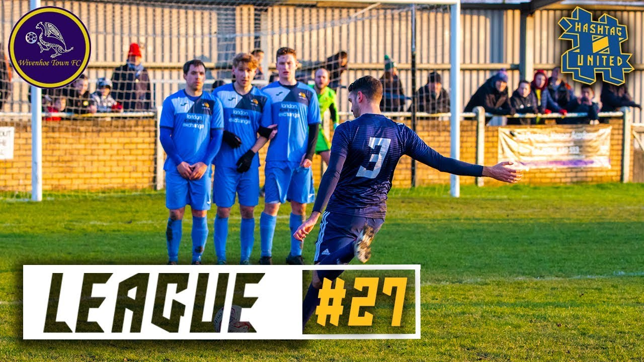 10 CUP FINALS! – WIVENHOE TOWN vs HASHTAG UNITED