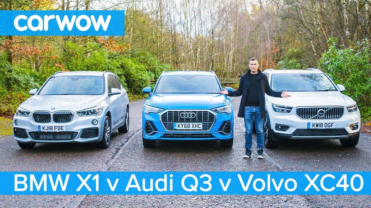Audi Q3 vs BMW X1 vs Volvo XC40 – which is the best posh small SUV?
