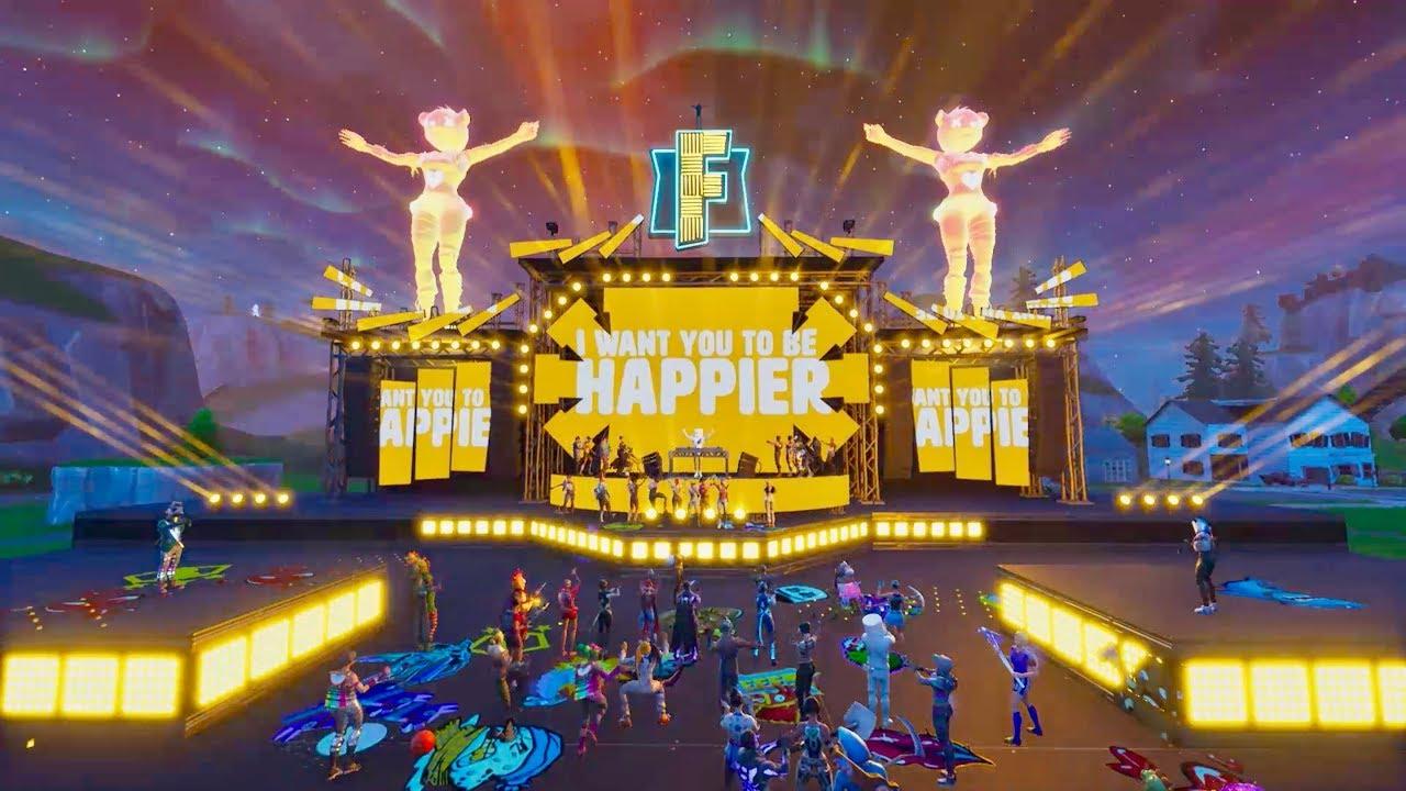 Marshmello ft. Bastille – Happier (Official Fortnite Music Video)