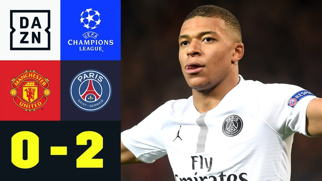 Kylian Mbappe erobert Old Trafford: Manchester United – Paris Saint-Germain 0:2 | Champions League
