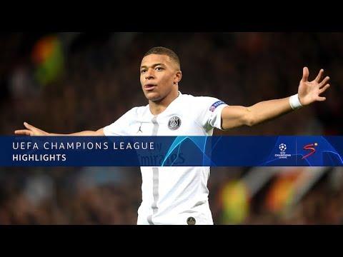 UEFA Champions League | Manchester United vs PSG | Highlights