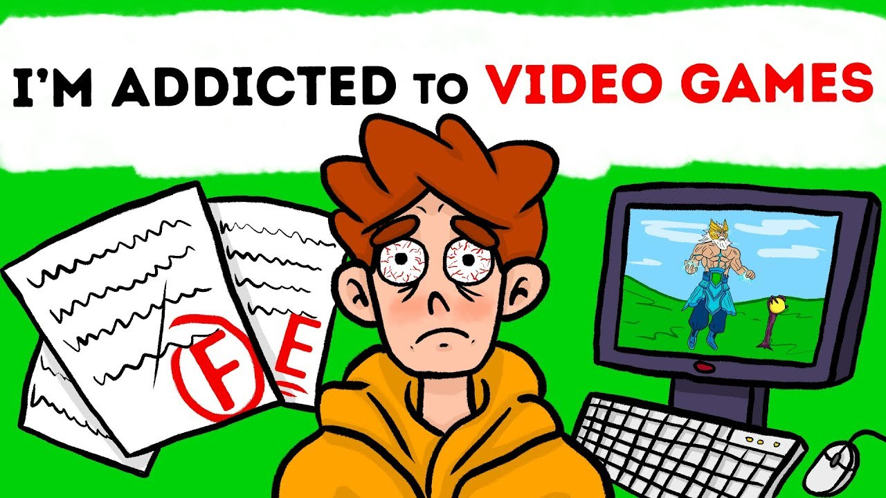 I'm Addicted To Video Games And Can't Control Myself