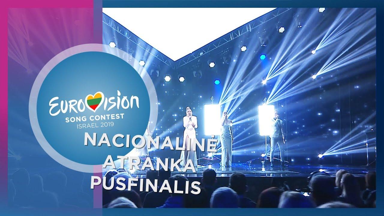 """Monika Marija – """"Light On"""" – Nacionalinė Eurovizijos atranka   Pusfinalis"""