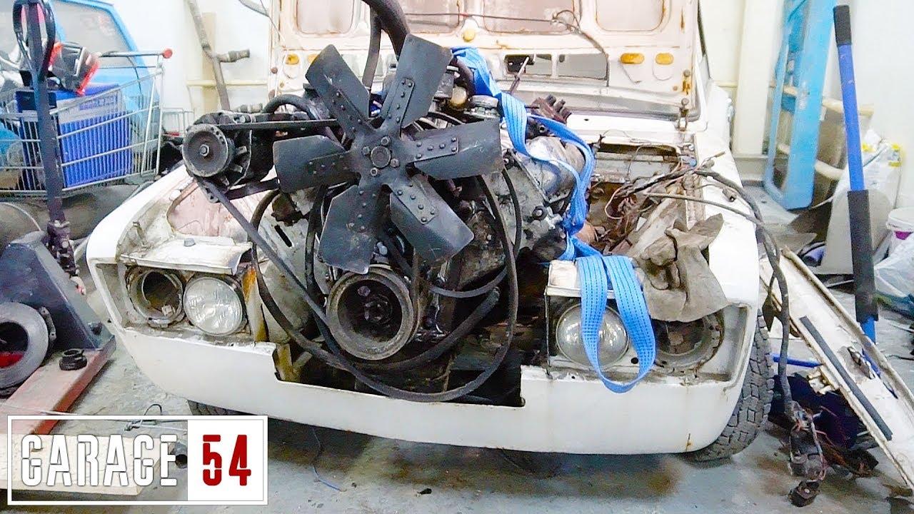 Двигатель от ЗИЛа (7 литров) в ЖИГУЛИ – ПЕРВЫЙ ЗАПУСК