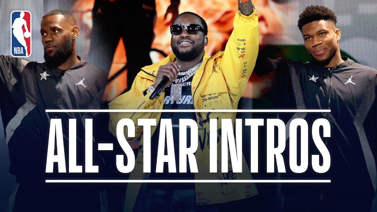 Meek Mill Headlines 2019 NBA All-Star Game Introductions   February 17, 2019