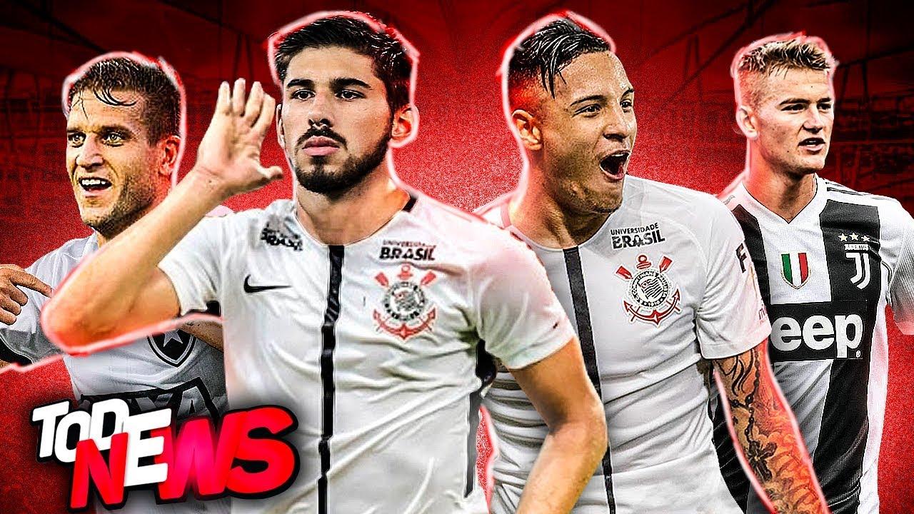 Sevilla ABAIXA valor de Arana e Mendez é do Timão, CR7 entra na conversa por De Ligt, Grêmio e mais