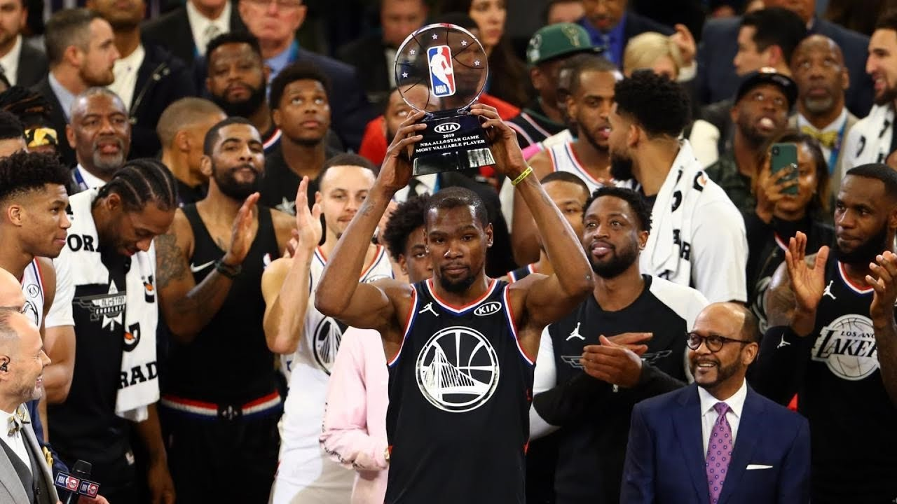 NBA All-Star Game 2019! Curry Lobs Off Ground Giannis! Durant MVP!