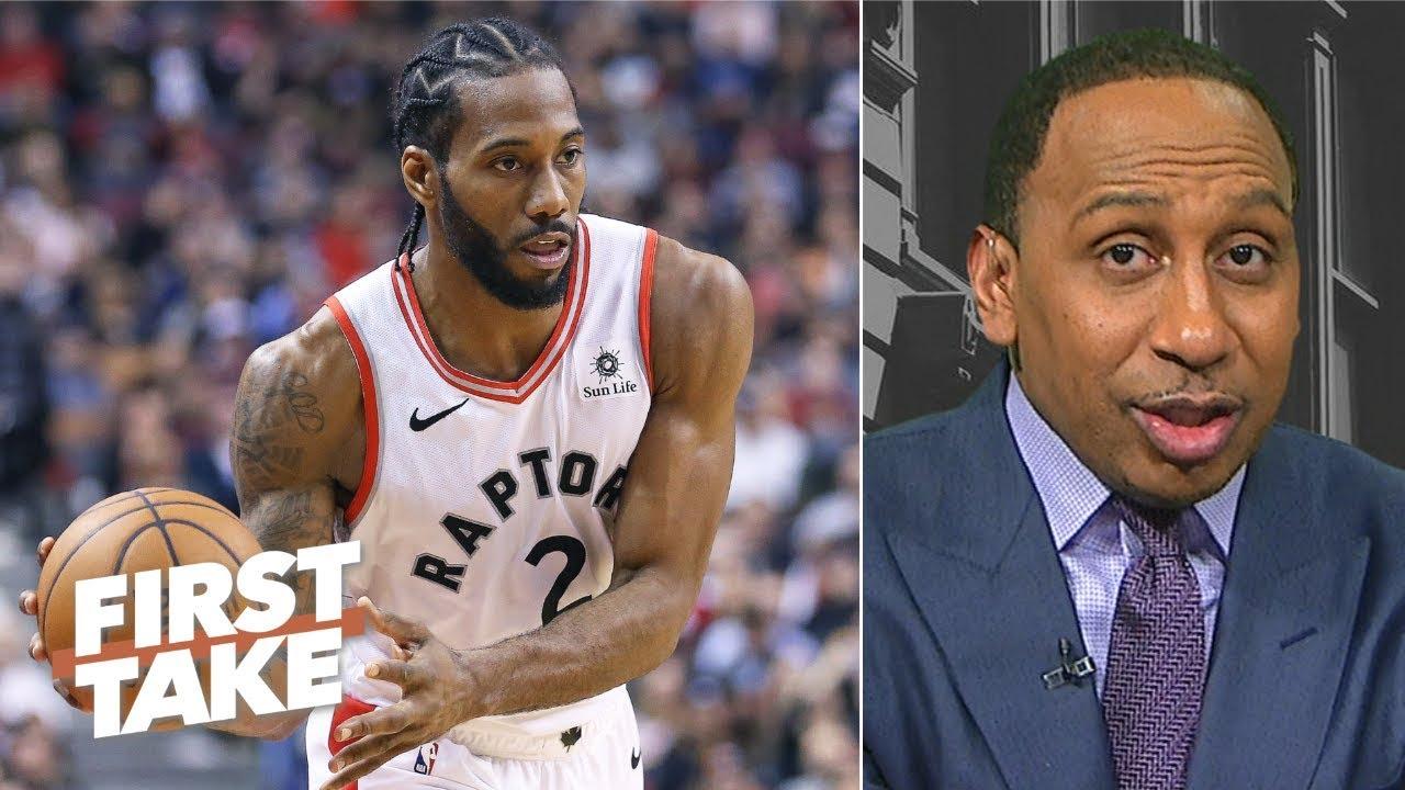 Kawhi Leonard needs to step up for Raptors to make NBA Finals – Stephen A.   First Take