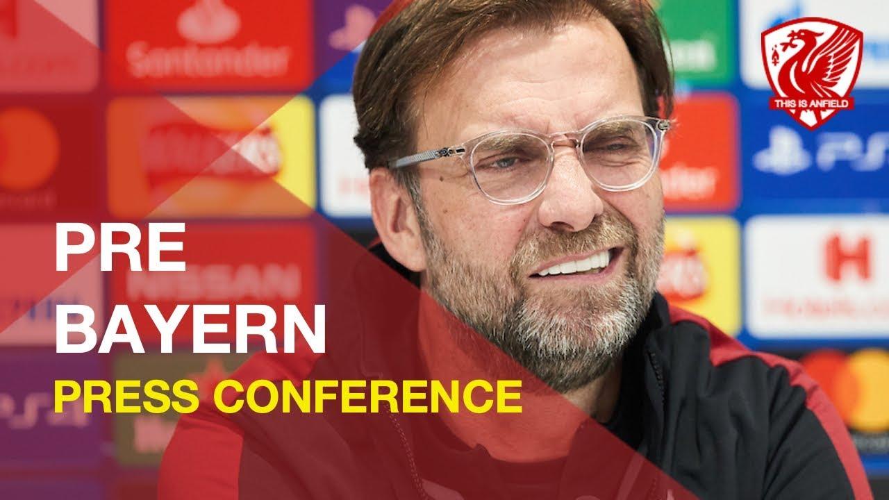 Liverpool vs. Bayern Munich   Jurgen Klopp Press Conference