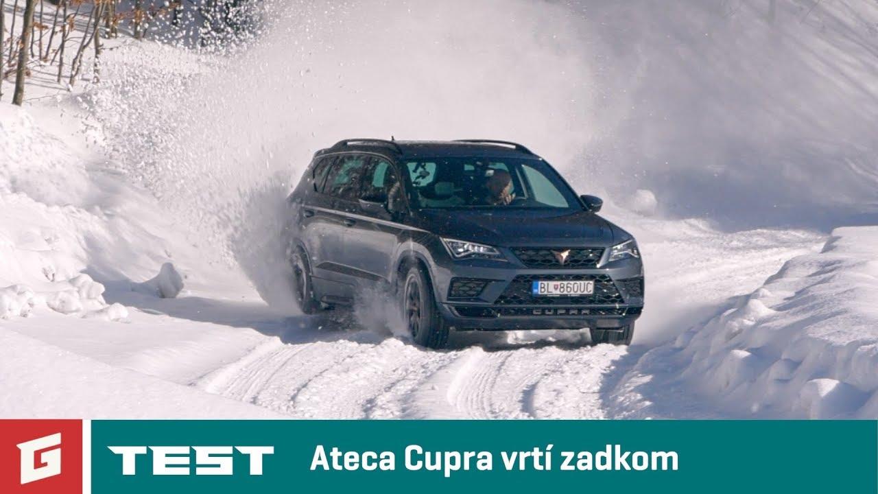 CUPRA ATECA 2,0 TSI 4 DRIVE – SUV – TEST – GARAZ.TV – Rasťo Chvála