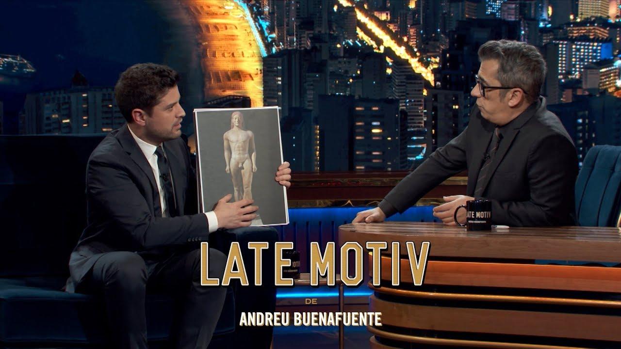 "LATE MOTIV – Miguel Maldonado. ""Escultura Románica"" | #LateMotiv506"