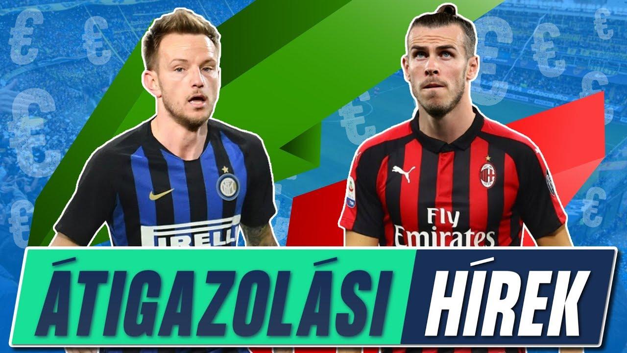 Rakitic egy lépésre az Intertől! Gareth Bale 100 m. €-ért a Milanban? | Átigazolási körkép