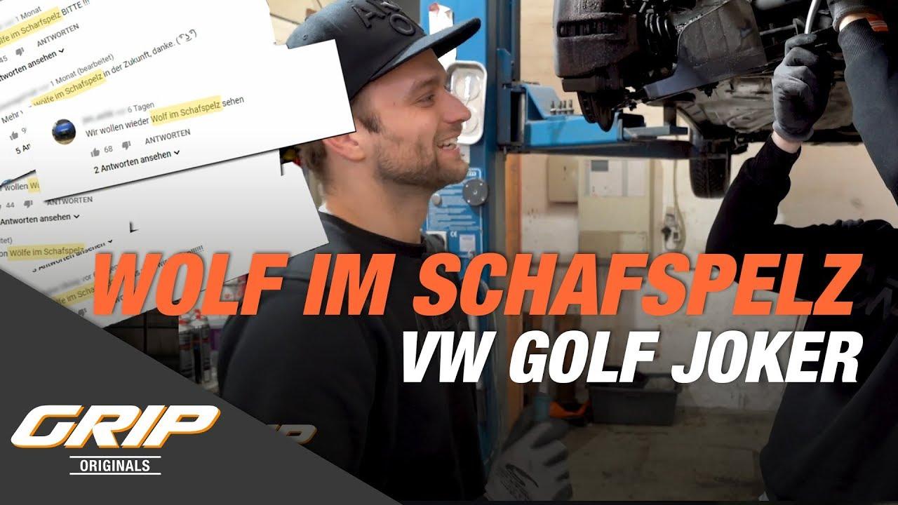VW Golf Joker auf 500 PS – Ein echter Wolf im Schafspelz! I GRIP Originals