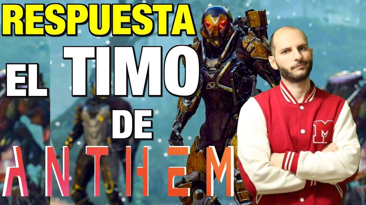 Respuesta a Jino de EL TIMO DE ANTHEM – Sasel – noticias – EA – español