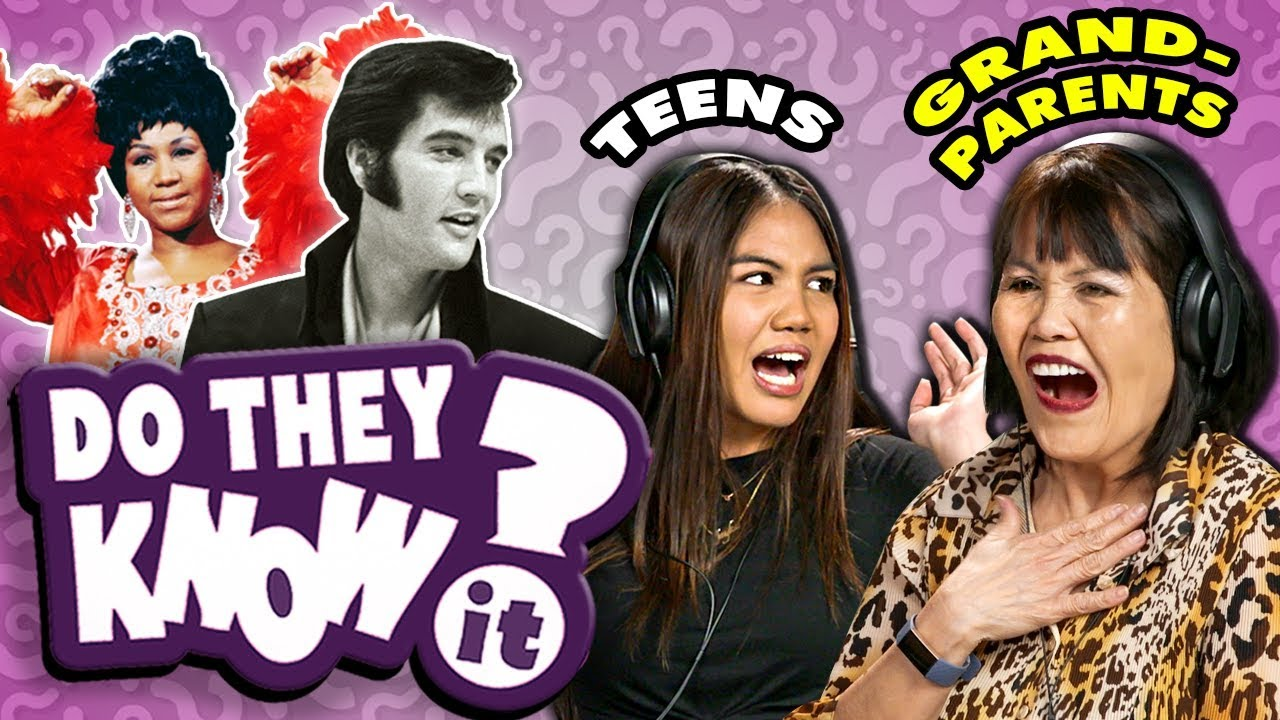 Do Teens Know Their Grandparent's Favorite Songs? (REACT: Do They Know It?)