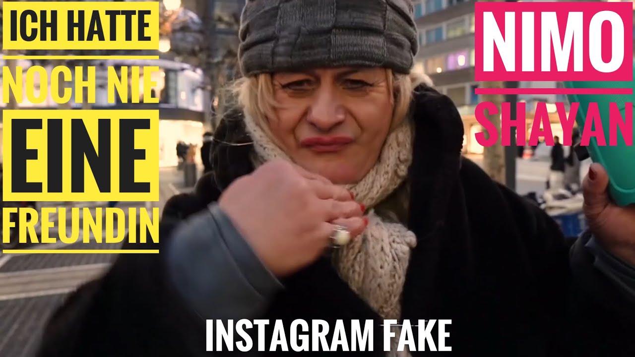 Ich hatte noch nie eine Freundin | Instagram Fake | Nimo | Shayan Garcia