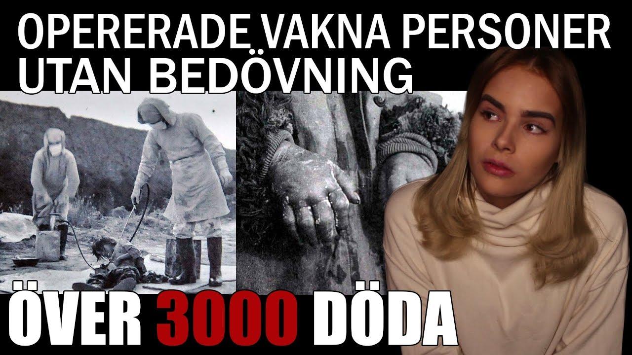 SKRÄCKHÄNDELSERNA PÅ ENHET 731   Sann historia