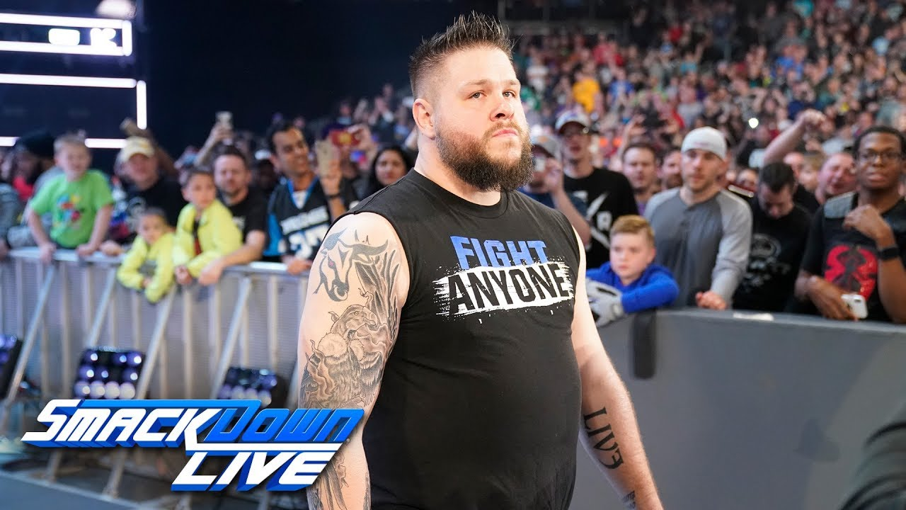 Kevin Owens returns and replaces Kofi Kingston at WWE Fastlane: SmackDown LIVE, Feb. 26, 2019