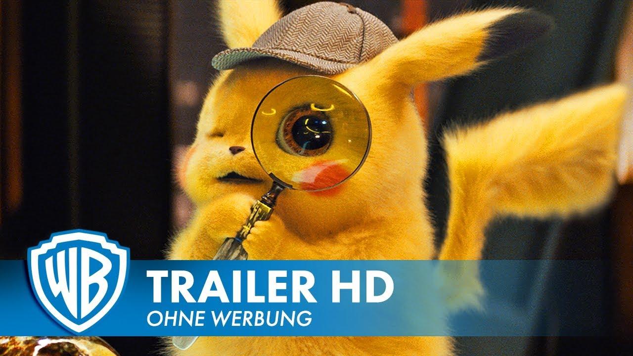 POKÉMON MEISTERDETEKTIV PIKACHU – Trailer #2 Deutsch HD German (2019)