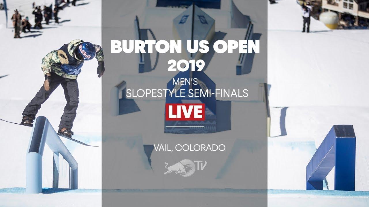 FULL SHOW – Burton US Open Men's Slopestyle Semi-Finals