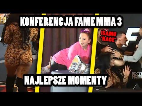 Konferencja FAME MMA 3- NAJLEPSZE MOMENTY
