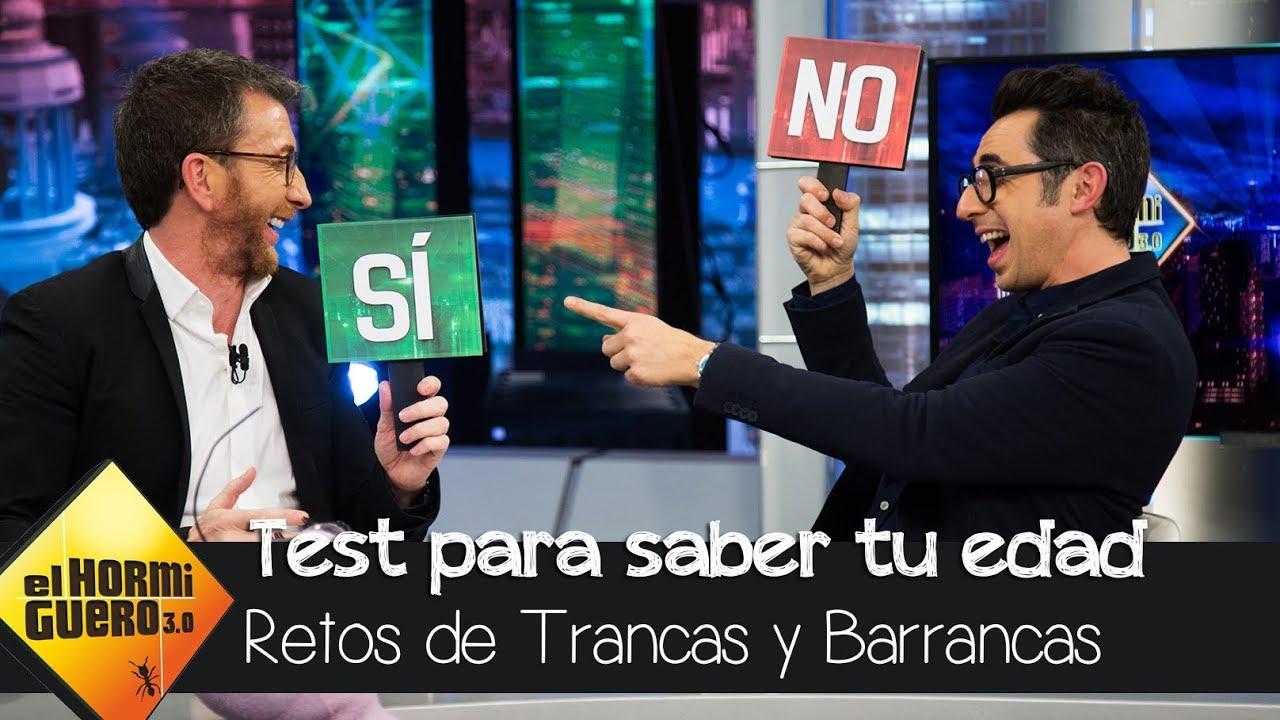 Berto Romero y Pablo Motos analizan su momento vital con Trancas y Barrancas – El Hormiguero 3.0