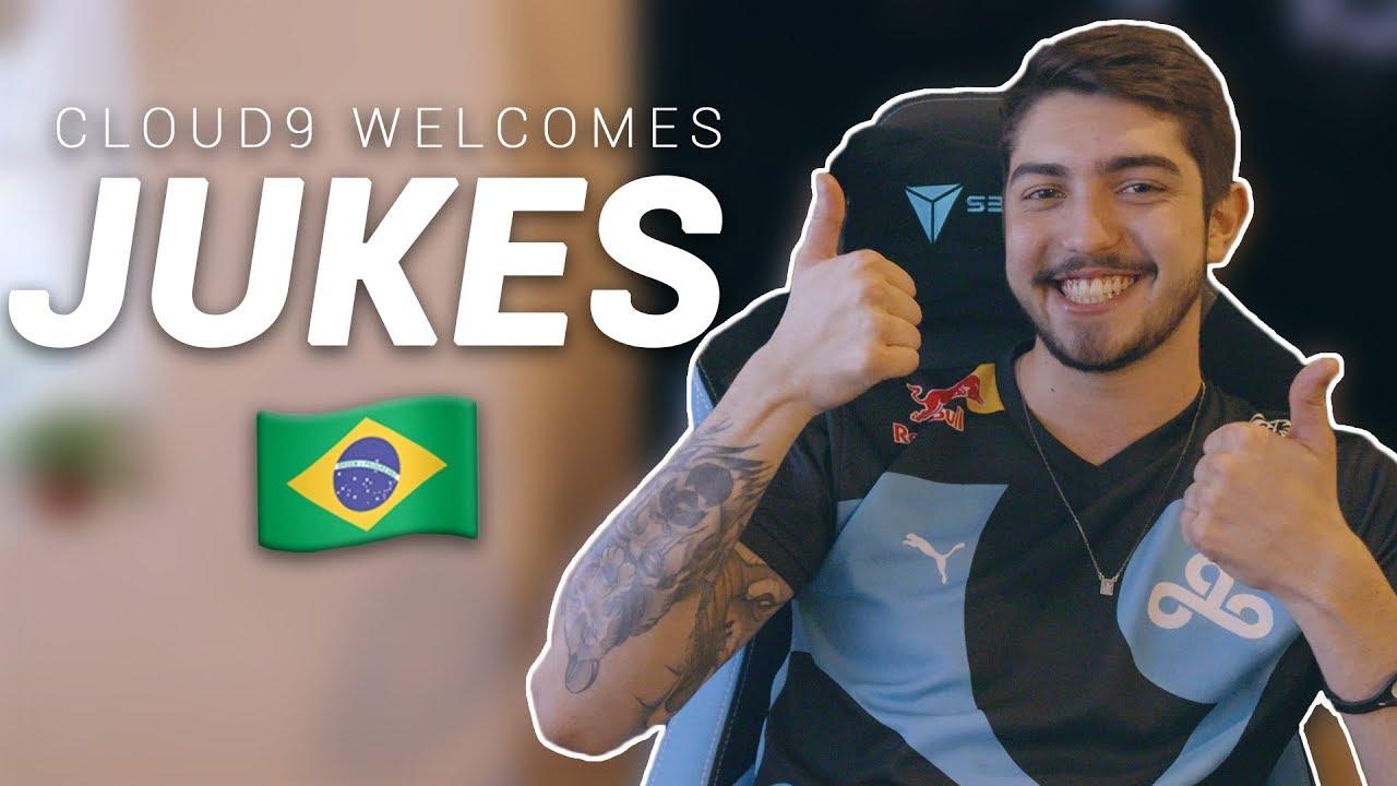 "Welcome to Cloud9, Flávio ""Jukes"" Fernandes!"