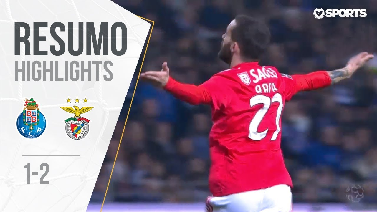 Highlights | Resumo: FC Porto 1-2 Benfica (Liga 18/19 #24)